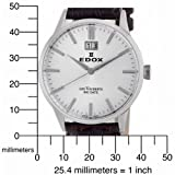 Edox Men's 63001 3 AIN Les Vauberts Date Watch