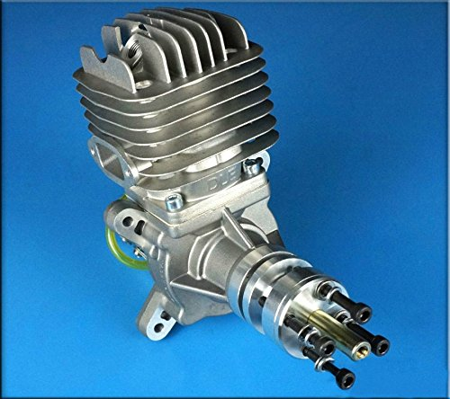 DLE-55 Gasoline engine Side Exhaust Airplanes gas engine 55cc NGK CM6 5.5HP (Rc Airplanes Gas compare prices)