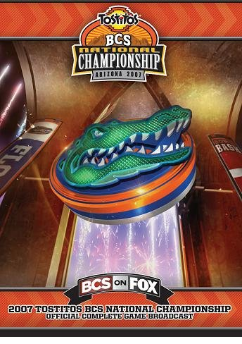 2007 Tostitos National Championship DVD