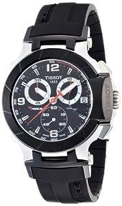 Tissot Men's T-Race Chronograph Dial Watch Black T0484172705700