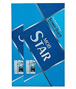 MOBSTAR Clear Screenguard for Samsung Galaxy S Duos 2 S7582 (Pack of 2)