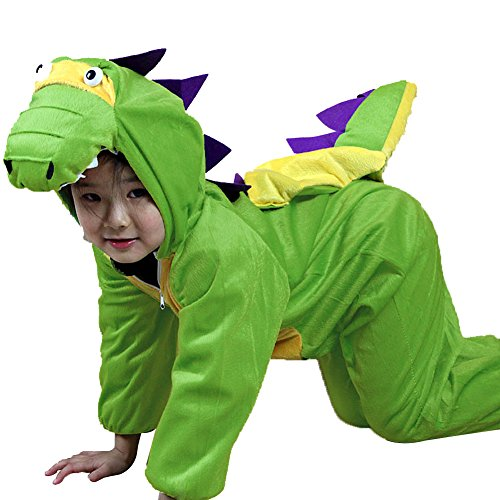 [Moolecole Halloween Christmas Kids Costume Toddler Baby Animal Costume Dinosaur M] (Toothless Dragon Cat Costume)