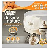 Tommee Tippee Closer to Nature Microwave Steam Cold Water Steriliser