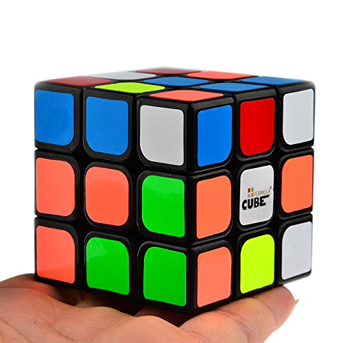 Magic Cube, Formula Cube 3x3x3 Three Layer Magic Cube 56mm Black