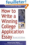 How to Write a Winning College Applic...