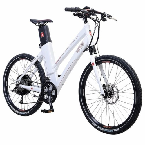 Eflow E3 Nitro Step-thru - Electric Bicycles (M=20