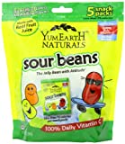 Yummy Earth Natural Sour Jelly Beans Snack, 5 Count