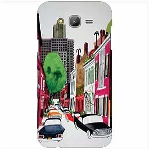 Samsung Galaxy J7 Back Cover - City Life Designer Cases