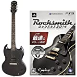 "Epiphone LIMITED MODEL SG Junior (Worn Black) +PS3版""Rocksmith(ロックスミス) 2014"" SPECIAL SET"
