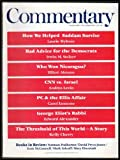 img - for Commentary: Vol. 92, No. 1 (July 1991) book / textbook / text book