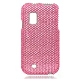 Samsung Fascinate (Galaxy S - Verizon) Full Diamond Case - Pink