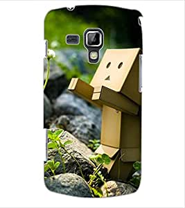 ColourCraft Funny and Creative Design Back Case Cover for SAMSUNG GALAXY S DUOS 2 S7582