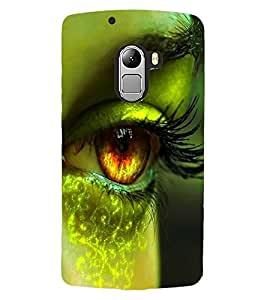 ColourCraft Lovely Eye Design Back Case Cover for LENOVO A7010