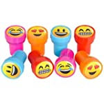 Emoji Smiley Stamps Birthday Party Su...