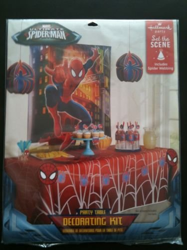 Marvel Ultimate Spider-man Party Table Decorating Kit