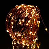 Innoo Tech **100 LED Patio String Light for Indoor Outdoor Xmas Wedding Party Bedroom Decoration Warm White Bulb on 10M Copper Wire