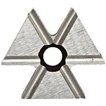 SHAVIV 151-29033 D85 Six Cutting Edge, Hi-Speed Steel Blade (Pack of 10)