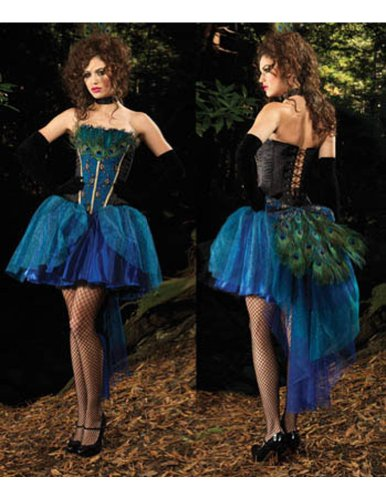 Peacock Princess Dl Xlg Adult Womens Costume