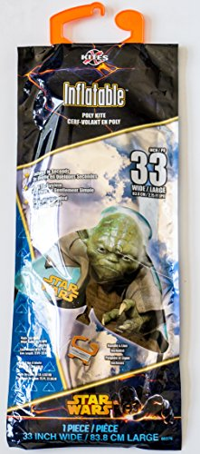 Star Wars Yoda Inflatable 33-inch wide Poly Kite SkyTails