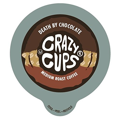 Crazy Cups Death By Chocolate Flavored Coffee Single Serve cups for Keurig K-cup Brewer 22 K-cup (Crazy Flavored Coffee K Cups compare prices)