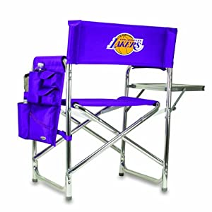 NBA Los Angeles Lakers Portable Folding Sports Chair, Purple by Picnic Time