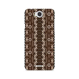 Ebby Gemoetric Strip Premium Printed Case For InFocus M530