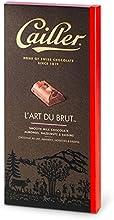 Cailler L'Art du Brut, Milchschokolade mit ganzen Mandeln, Haselnüssen und Rosinen, 2 Tafeln (2 x 195 g)