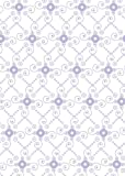 Rayher 100% Cotton Fabric with Whirl Drop Design 50 x 65 cm 135g/m² Lavender