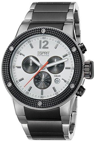 Esprit Collection para hombre-reloj cronógrafo de cuarzo acero inoxidable Anteros EL101281F06