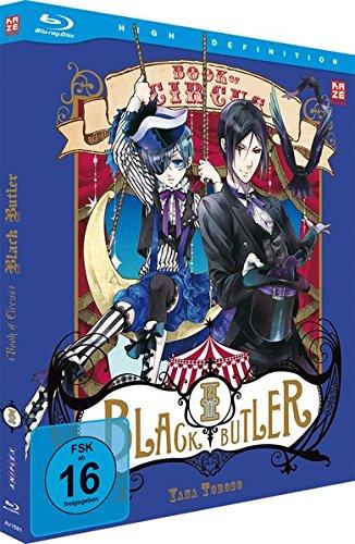 Black Butler: Book of Circus - 3.Staffel - Vol.1 [Blu-ray] [Edizione: Germania]