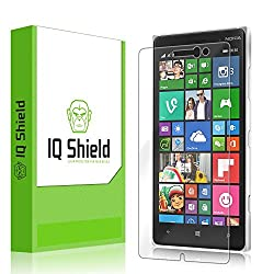 IQ Shield LiQuidSkin - Nokia Lumia 830 Screen Protector with Lifetime Replacement Warranty - High Definition (HD) Ultra Clear Smart Film - Premium Protective Screen Guard - Extremely Smooth / Self-Healing / Bubble-Free Shield