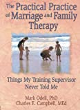 The Practical Practice of Marriage and Family Therapy: Things My Training Supervisor Never Told Me (Haworth Marriage & the Family)
