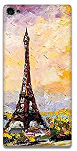 The Racoon Lean eiffel tower hard plastic printed back case / cover for Lenovo Vibe X2