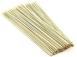 100 Pcs 6 Long Bamboo Cocktail Party Sticks Kebab Skewers,long Toothpicks