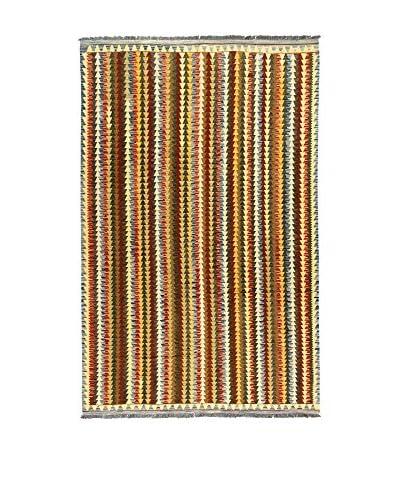L'Eden del Tappeto Alfombra Kilimp-Vegetale Multicolor 307t x t200 cm