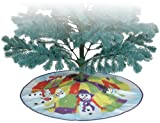 Premier Kites 80037 Tree Skirt, Welcome Snowmen, 28-Inch