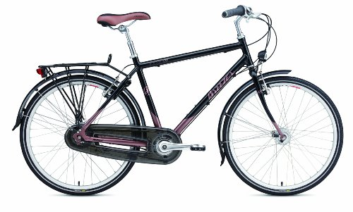 Breezer Uptown Infinity Complete Bike Black Satin / Copper Brown M (19.5-Inch)