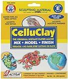 Activa Celluclay Instant Papier Mache, 1-Pound, Gray