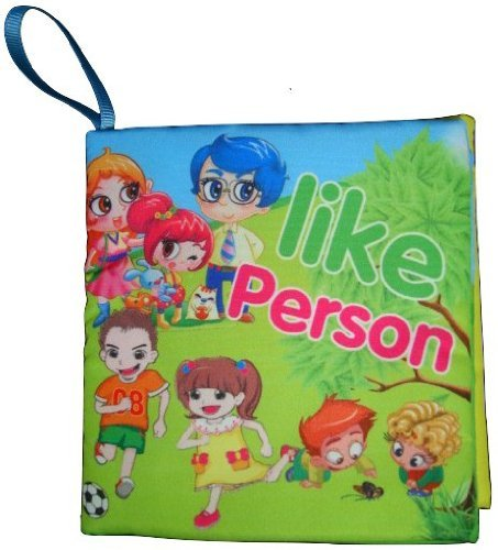 "Baby Cloth Book ""Like Person"""