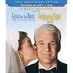 Father of the Bride: 20th Anniversary Edition -Two Movie Collection (Three-Disc Blu-ray/DVD Combo)