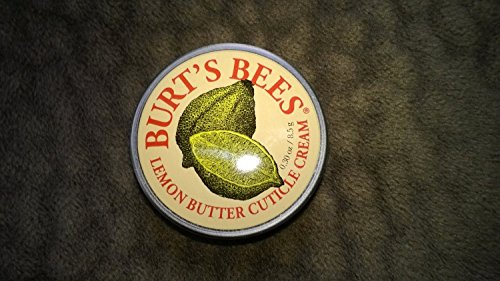 3 Pack - Burt's Bees Lemon Butter Cuticle Cream, 0.30 Oz/8.5 G verb styling cream 5 3 oz