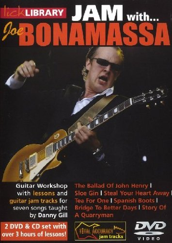 Lick Library: Jam With Joe Bonamassa (2 DVD & CD Set) [Edizione: Regno Unito]