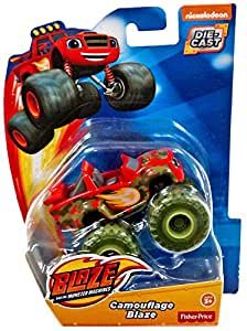 Fisher Price Nickelodeon Blaze and The Monster Machines Camouflage Blaze Vehicle