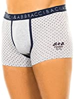 Baci & Abbracci Pack x 2 Bóxers (Gris Claro / Azul Marino)