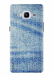Noise Designer Printed Case / Cover for Samsung Galaxy J2 Pro - 6 (New 2016 Edition) / Patterns & Ethnic / Denim Design