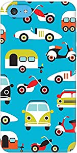 DailyObjects Happy Camper Case For iPhone 5C (Back Cover)