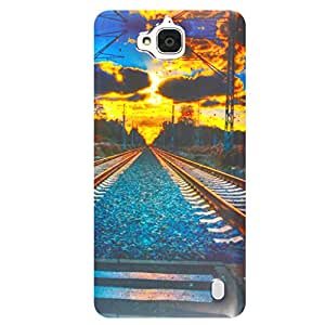 Shopme Printed Designer Back cover_3008_for HuaweiHonor Holly 2 plus