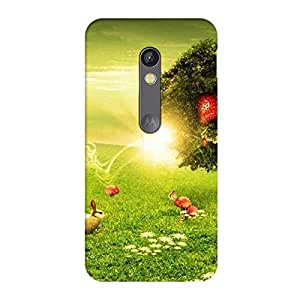 Perfect print back cover for Motorola X Play