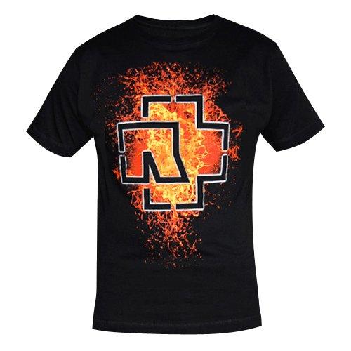 "Rammstein, T-shirt per donne ""Lava Logo"" (S)"