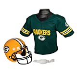 Franklin Sports NFL Green Bay Packers Replica Youth Helmet and Jersey Set